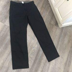 GAP cotton relaxed fit navy pants